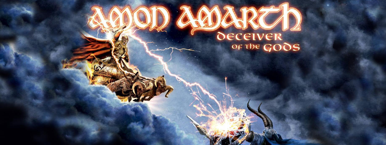 amon - Amon Amarth - Deceiver of the Gods (Album review)