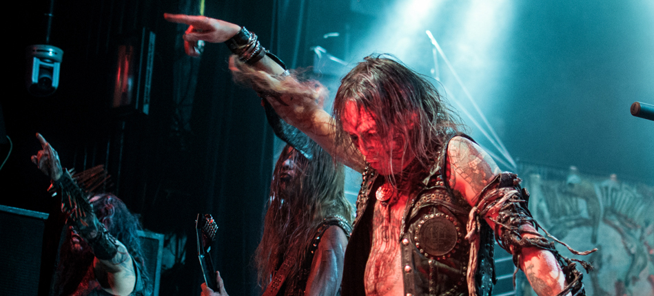 watain cover - Watain, In Solitude, & Tribulation bring The Wild Hunt to Irving Plaza, NYC 10-8-13 (Exclusive coverage)