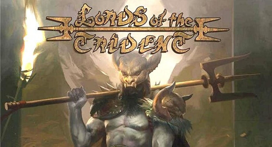 "Lords Of The Trident Plan Of Attack Front Cover - Lords Of The Trident release video for ""Complete Control"""