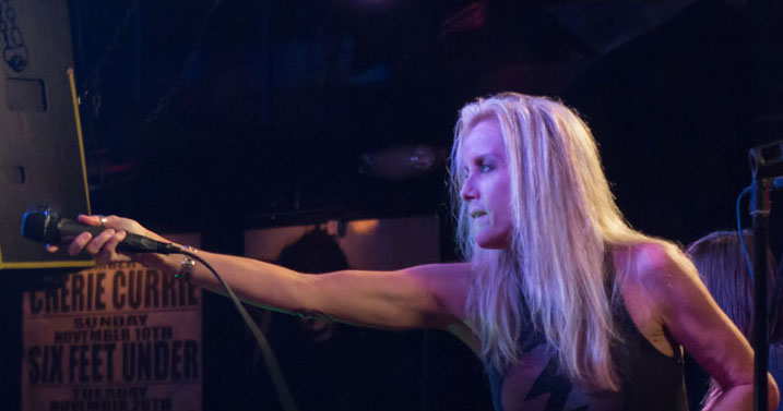 curry cover - Cherie Currie rocks Revolution Amityville, NY 11-8-13 (Exclusive Coverage)