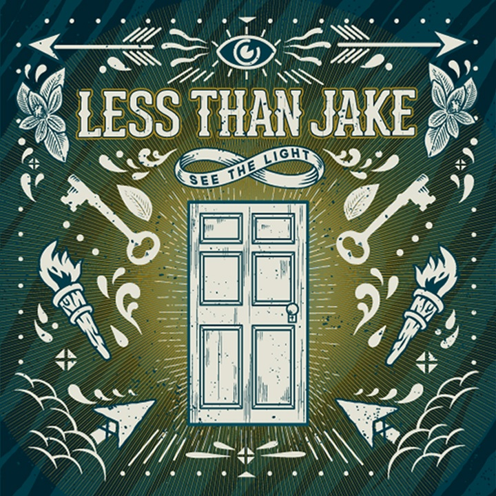 less than jake albm cover - Less Than Jake - See The Light (Album Review)