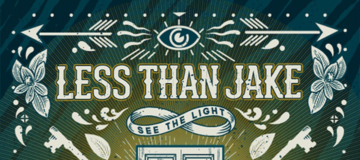 less than jake albm cover1 - Less Than Jake - See The Light (Album Review)