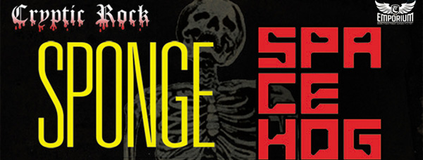sponge cover 4 - Win a pair of tickets to Sponge & Spacehog live 12-5-13 at The Emporium Patchogue, NY here on Cryptic Rock!