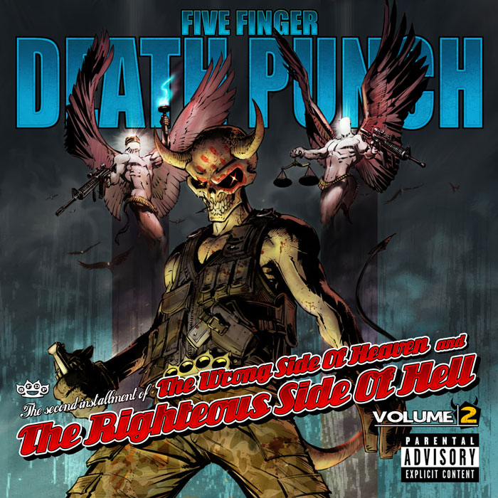 5FDP VOL2 ExplicitCover - Five Finger Death Punch & Volbeat take over Times Union Center Albany, NY 9-27-14 w/ Hellyeah & Nothing More