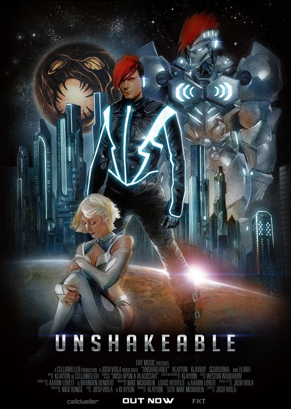 """Unshakeable Music Video Poster - Celldweller Releases Visually Stunning Music Video for """"Unshakeable"""""""