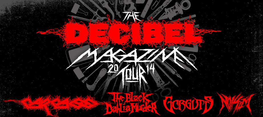 header 922 - Third Annual Decibel Magazine Tour Lineup and Dates Announced