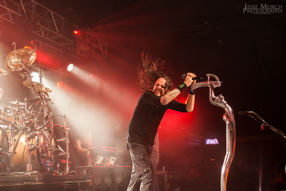 korn18 - Korn, Devour The Day, & New Theory light up Starland Ballroom Sayerville, NJ 11-27-13