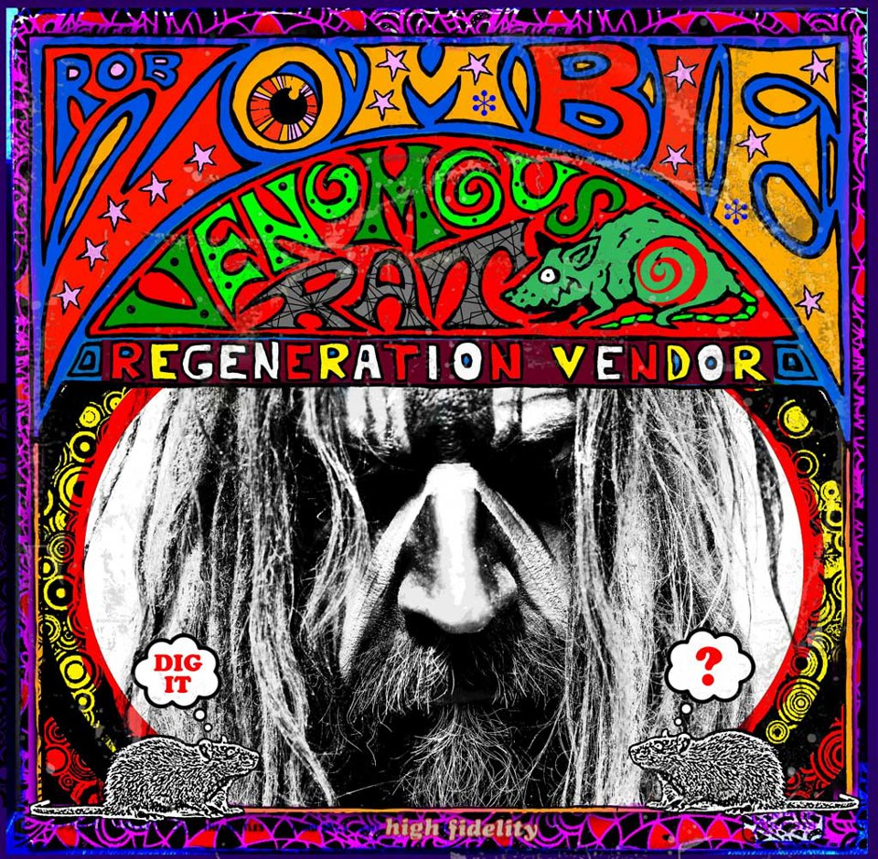 robzombie junior - Rob Zombie - Venomous Rat Regeneration Vendor (Album review)