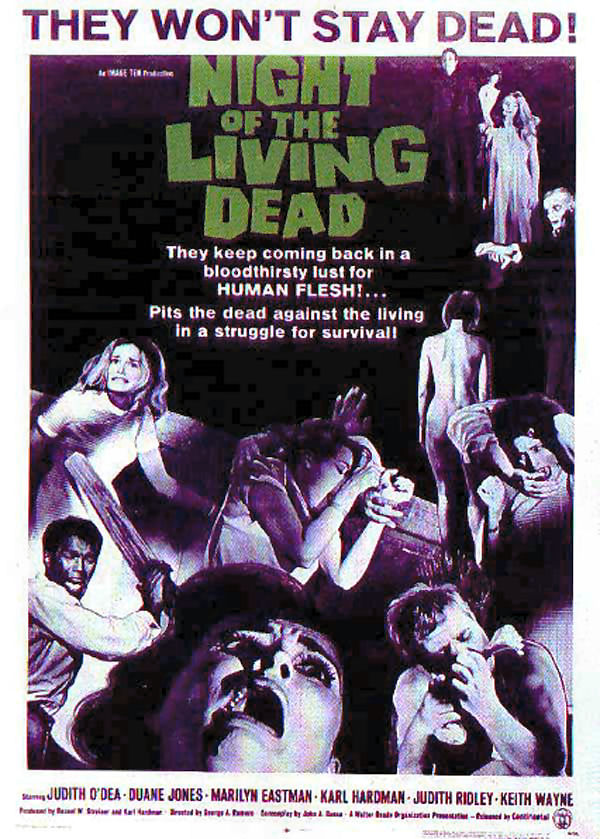 20101114175627Night of the Living Dead affiche - Favorite Horror Movies Revealed: Blake Allison of Devour the Day