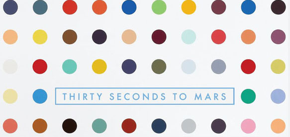 30 cover - Thirty Seconds To Mars - LOVE LUST FAITH + DREAMS (Album review)