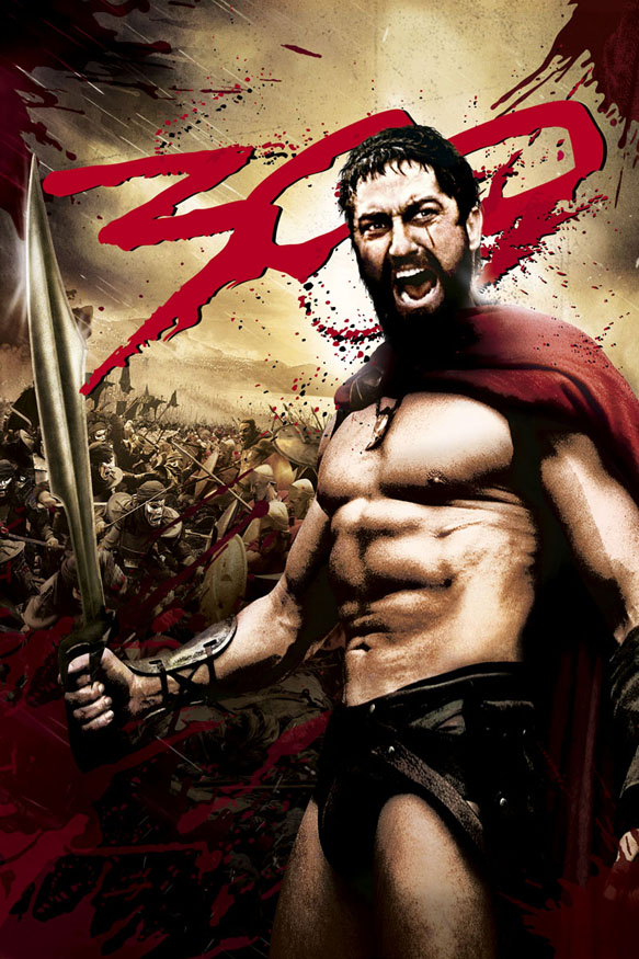 300 movie poster - 300 (Movie review)