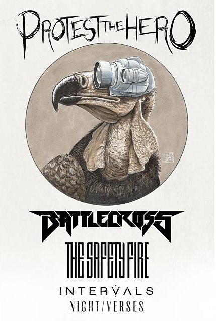 661 - Protest The Hero, Battlecross, The Safety Fire, Intervals and Night Verses team up for North American tour