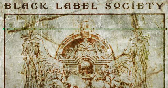 "black label slide - Black Label Society release album artwork for ""Catacombs of the Black Vatican"""
