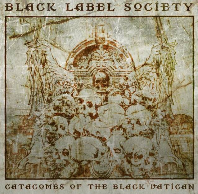 "blacklabelcatacombscover.102307 - Black Label Society release album artwork for ""Catacombs of the Black Vatican"""