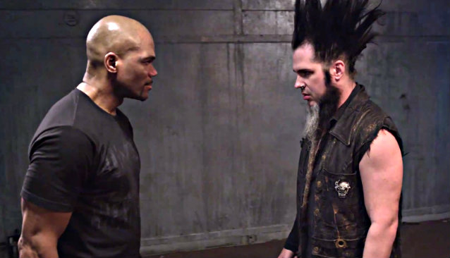 "dmcwaynestatic 638 - DMC and Wayne Static team up for ""Noise Revolution"" music video"