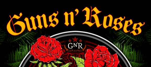guns slide - GUNS N' ROSES GO TO HELL & HEAVEN FOR SOUTH AMERICA IN 2014