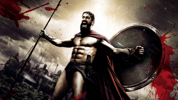 movie 300 wallpaper 1 - 300 (Movie review)