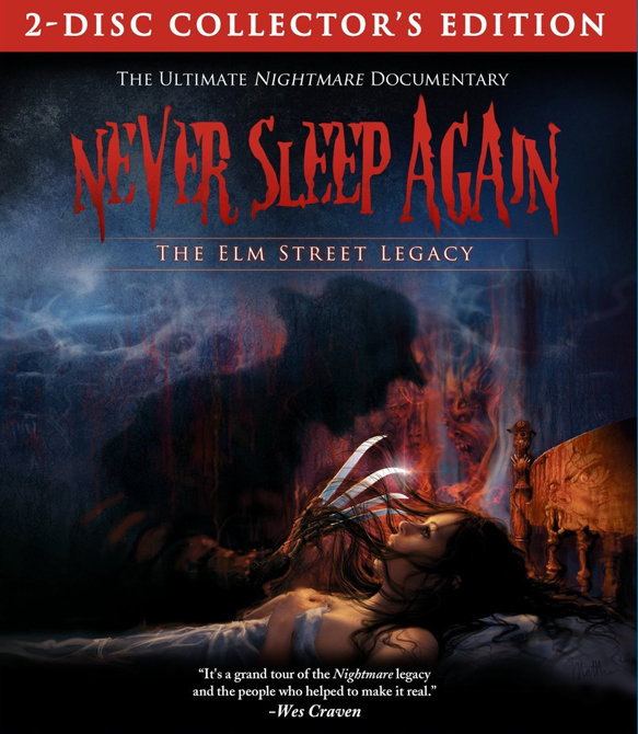 never sleep cover1 - Interview - Thommy Hutson, Daniel Farrands, & Andrew Kasch of the 'Never Sleep Again: The Elm Street Legacy' documentary