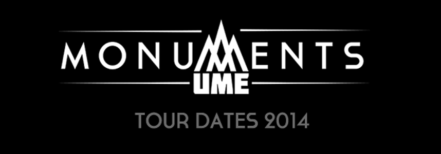 502 slide - Ume's 'Monuments' Streaming In Full A Week Prior To Release Via Fender.Com; Band Announces U.S. Tour