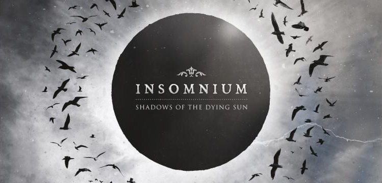 in slide - INSOMNIUM announces details for new album, 'Shadows Of The Dying Sun'