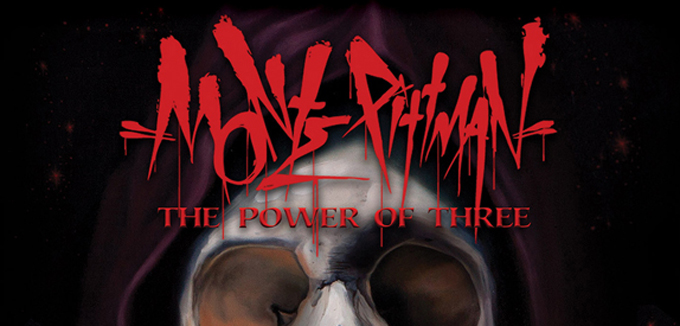 monte slide cover - Monte Pittman - The Power of Three (Album review)
