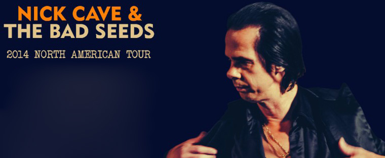 nick slide - Nick Cave & The Bad Seeds announce Summer 2014 North American tour