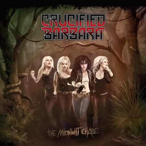 Crucified Barbara The Midnight Chase - Interview - Klara Force of Crucified Barbara