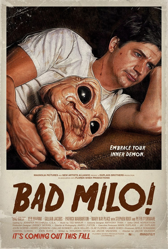 bad milo poster - Bad Milo! (Movie review)