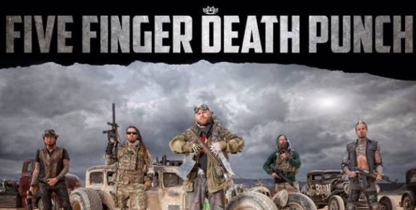 ffdp house - Five Finger Death Punch unveil their music video for 'The House Of The Rising Sun'