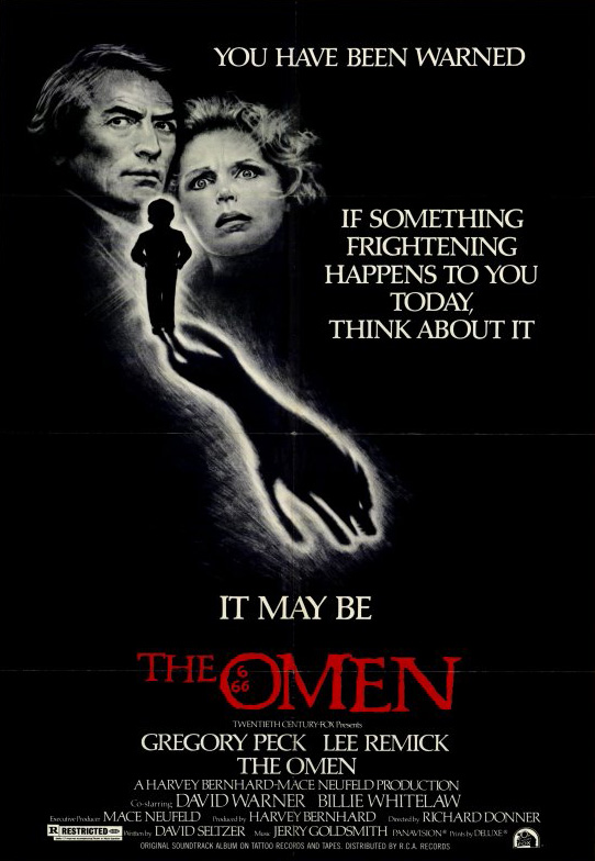 the omen poster - Favorite Horror Movies Revealed: James Durbin
