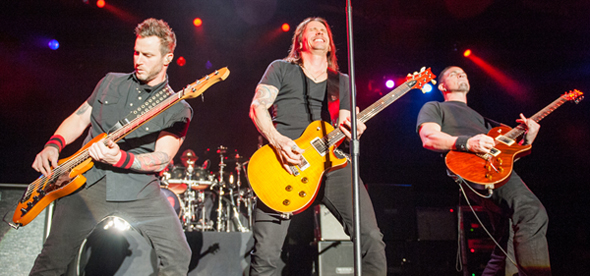 alter bride slide - Alter Bridge Sell Out Best Buy Theater, NYC 4-24-14