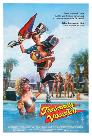 fraternity vacation poster - Interview - Stephen Geoffreys