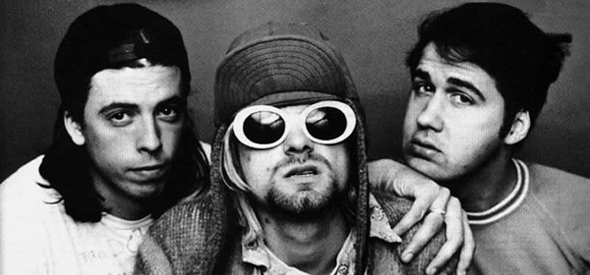 nirvana slide - Reflecting on Kurt Cobain and Nirvana 20 Years Later