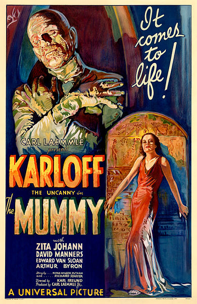 390px The Mummy 1932 film poster - Interview - Marc Storace of Krokus