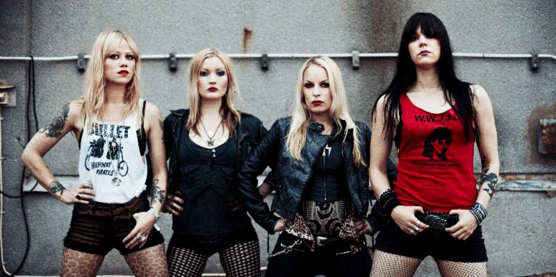 """910 - Crucified Barbara release """"To Kill a Man"""" music video"""
