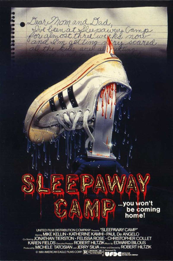 SLEEPAWAY CAMPS poster art - Interview - Jordan Mancino of Wovenwar