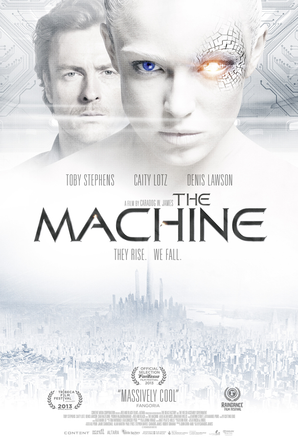 TheMachine 1sht FINAL@150 - The Machine (Movie Review)