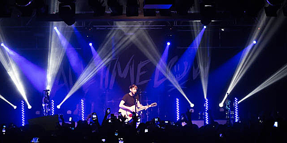 "all time low slide edited 1 - All Time Low, Man Overboard, and Handguns Sellout Starland Ballroom on ""A Love Like Tour"" 5-2-14"