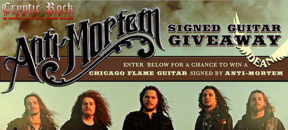 anti slide - Anti-Mortem Syndicated Guitar Giveaway with CrypticRock