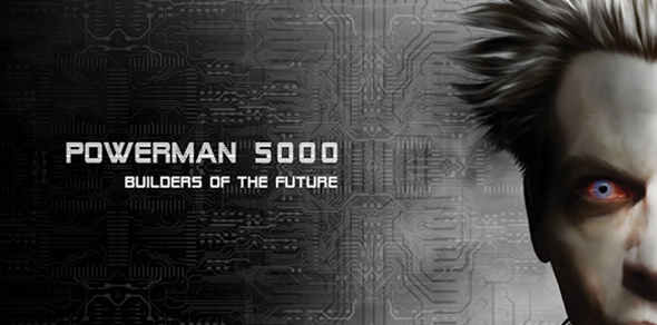 Powerman 5000 Builders Of The Future cover art edited 1 - Powerman 5000 – Builders of the Future (Album review)