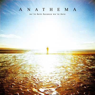Were Here Because Were Here album cover - Interview - Vincent Cavanagh of Anathema
