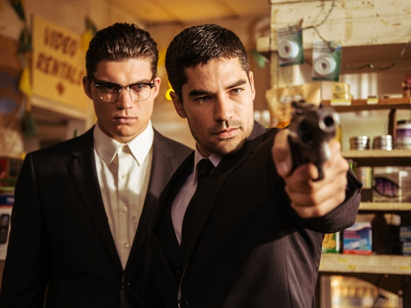 Zane Holtz and D.J. Cotrona in From Dusk Till Dawn the series as Gecko brothers 154817 - From Dusk Till Dawn: The Series Season One (Review)