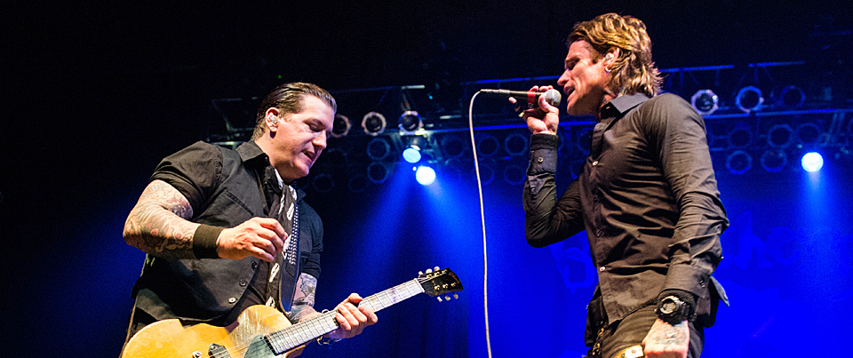 buckcherry theparamount 053014 16 - Buckcherry, Fozzy & Mother Put on a Classic Rock Show at The Paramount, NY 5-30-14