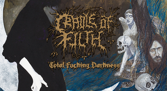 cradle cover edited 1 - Cradle Of Filth - Total Fucking Darkness (Album review)