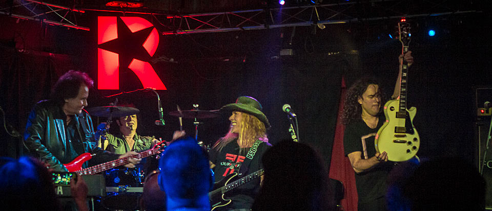 four slide - Four By Fate Rock Revolution Music Hall Amityville, NY 6-5-14