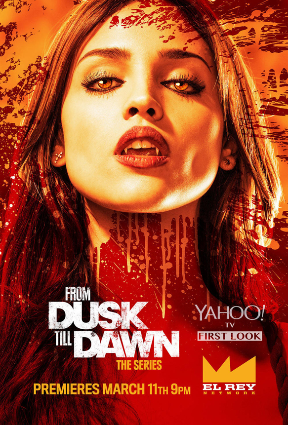 from dusk till dawn poster eiza gonzalez article - From Dusk Till Dawn: The Series Season One (Review)
