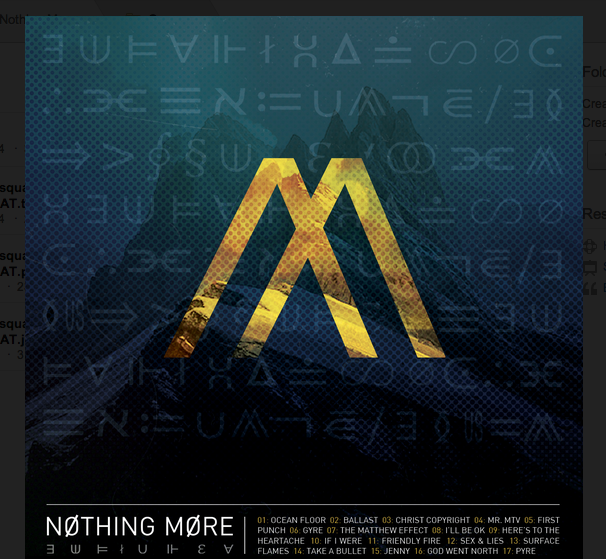 nothing more - CrypticRock Presents: The Best Albums of 2014