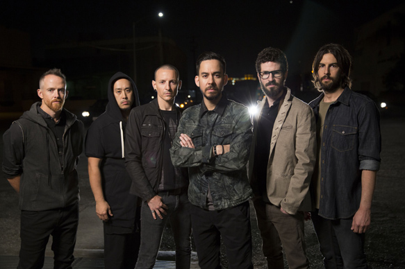 "photo credit brandon cox extralarge 1399425674384 - Linkin Park - Reflecting on the making of ""The Hunting Party"""