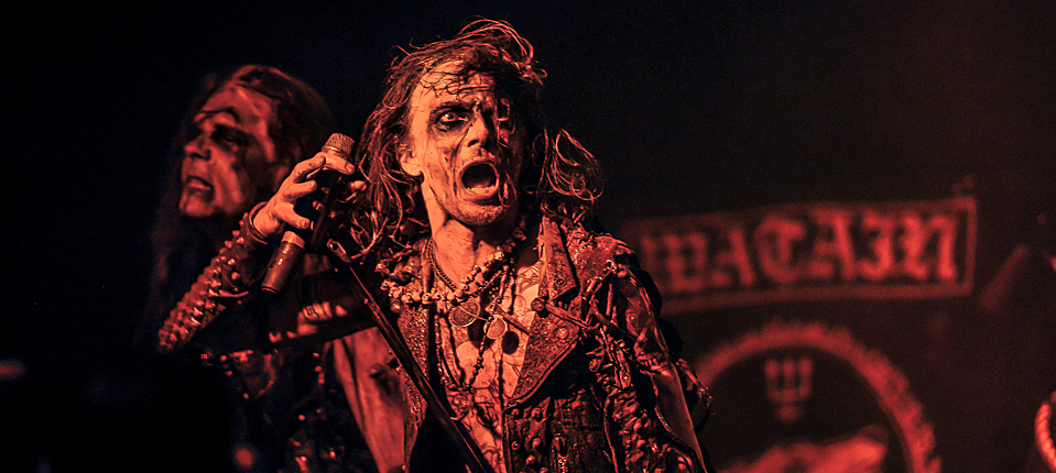 watain slide - Watain bring rare ritualistic performance to New York 6-15-14