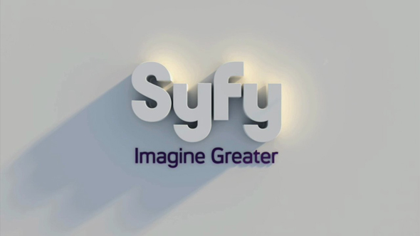 "Syfy ident 3D - SYFY Channel World Premiere of ""ALIENS ON THE MOON: THE TRUTH EXPOSED"" July 20th"